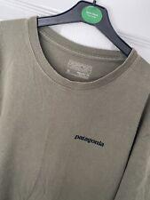 Patagonia Khaki Green T Shirt Size M