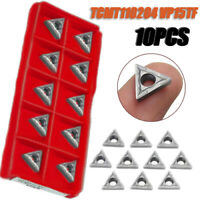 10x TCMT110204 VP15TF / TCMT21.51 Inserts CNC Blade Lathe Turning Tool For Steel