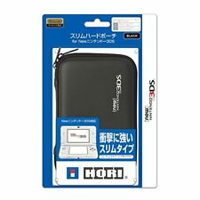 HORI Slim Hard pouch for New Nintendo 3DS Black From Japan