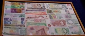 British Commonwealth countries, 25 different banknotes.