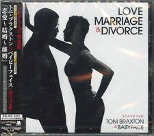 TONI BRAXTON & BABYFACE-LOVE. MARRIAGE & DIVORCE-JAPAN CD F37