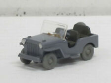 Geländewagen Jeep eckige Haube in staubgrau, ohne OVP, Wiking, 1:87, Zustand gut