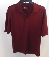 Nike Golf Mens Fit Dry Medium Red Polo Shirt S/S