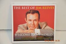 Jim Reeves BEST OF Welcome To My World 75 SONGS Collection NEW SEALED 3 CD SET