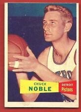 1957   TOPPS   CHUCK  NOBLE   ROOKIE   #  11  !!