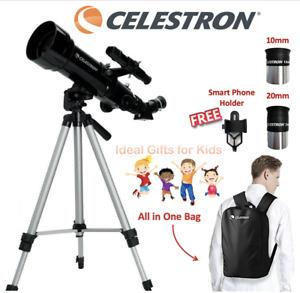 CELESTRON Terrestrial Astronomical Compact Telescope Travel Powerseeker 70400