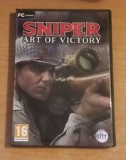 SNIPER - ART OF VICTORY - PC CD-ROM GAME