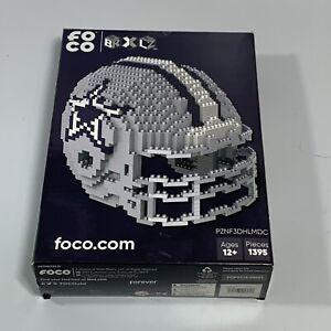 Dallas Cowboys BRXLZ Team Helmet 3D Toy PUZZLE 1395 Pcs SET NFL Ages 12+ GIFT