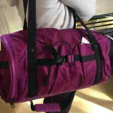Lululemon AUTHENTIC GYM Run Ways Duffel handbag bag SHOULDER STRAP PURPLE PINK