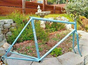 1984 Eddy Merckx Frame Fork REYNOLDS 753 Steel Campagnolo Bolt VTG PRO TEAM 84