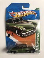 2011 Hot Wheels Treasure Hunt #51 Green Tucker Torpedo MOC New