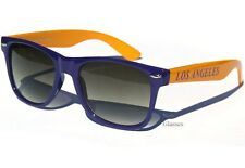 PURPLE and GOLD YELLOW LOS ANGELES Team Colors UNISEX SUNGLASSES Sunnies NEW