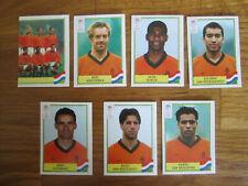 PANINI Euro 2000 - Lot de 7 images / PAYS-BAS