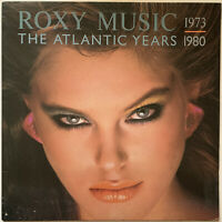 ROXY MUSIC THE ATLANTIC YEARS 1973-1980 LP EG 1983 NEAR EXCELLENT PRO CLEANED