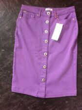 Per Una Pencil Skirt New M&S Size 12 Lilac