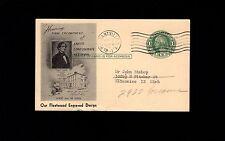 Fleetwood Honors Final Civil War Csa Encampment 1947 Pleasantville Ny Postal 5s