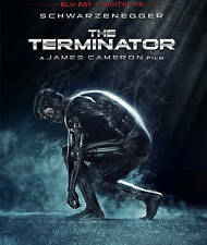 The Terminator NEW Bluray Disc/Case/Cover/photos only-no digital red promo case