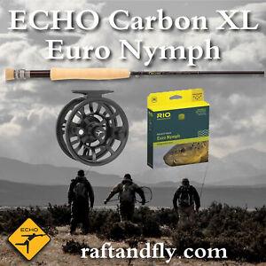"""ECHO Carbon XL Euro Nymph 3wt 10'0"""" - Add Line $199   Reel $249"""
