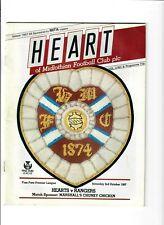 Hearts v Rangers - 03/10/1987
