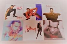 Neues AngebotHaddaway - 6 verschiedene Single Cover - Neu