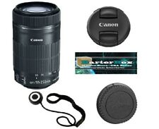 Sale 55-250 Canon Ef-s 55-250mm F/4.0-5.6 Stm Is Lens 8546B002 - Free Lens Cap