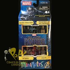 "Marvel BLACK PANTHER Movie Minimates 2"" Action Figure BOX SET M'Baku KILLMONGER!"