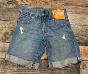 NWT Gymboree BRIGHT DAYS AHEAD Boys Distressed Denim Jean Shorts Size 8