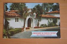 Rare Vintage Photograph Postcard RICHARD M NIXON HOME San Clemente California
