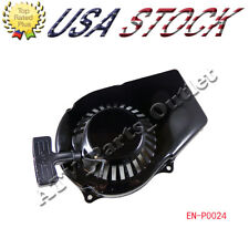 Motor Engine Generator Pull Start Starter Yamaha ET650 ET950 Recoil Rewind Black