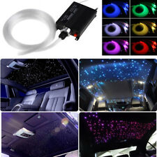 300x Fiber Colorful LED Car Ceiling Light Fiber Optic Star Kits RGBW Lamp Source