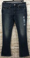 NEW American Eagle Skinny Kick Jeans womens 8 R bootcut stretch HO