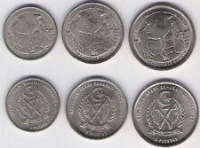 Saharawi Arab 1992 3 coin set 1 2 5 Pesetas West Sahara Beduin Spain Camel UNC