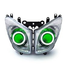 KT LED Headlight Assembly for Yamaha TMAX 500 T-MAX 2008- 2011 Green