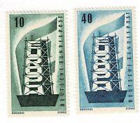 GERMANY - 1956 EUROPA - Sc#748/749 - HM - E 1938