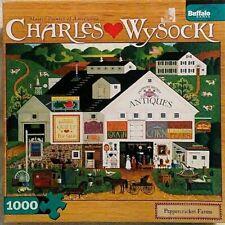 """Charles Wysocki Art """"Peppercricket Farms"""" 1000 Piece Jigsaw Puzzle"""