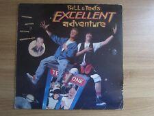 Bill & Ted's Excellent Adventure OST 9 Tracks 1989 Korea Promo Orig LP INSERT