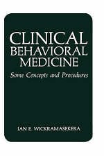NEW Clinical Behavioral Medicine: Some Concepts and Procedures