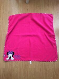 Minnie Mouse Fleece Blanket