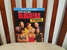 Blockers Blu-ray + DVD + Digital Brand New with Slip Cover