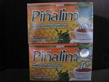 2 X Pinalim Tea de Pina GN+Vida, Pinalim Tea, Piñalim Te .Diet. Detox. EXP 2025
