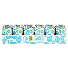 Rio Tropical Light 24 x 330ml CANS