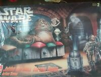 VINTAGE STAR WARS JABBA THE HUTT THRONE ROOM MODEL KIT STILL SEALED