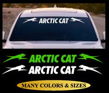 Arctic Cat Leap Vinyl Vehicle Car Truck Graphic Decal Sticker Snow Machine