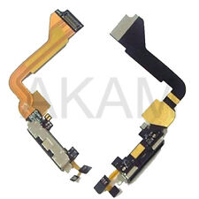 CHARGING BLOCK USB DOCK REPLACEMENT CONNECTOR FLEX CABLE WITH MIC IPHONE 4 4G