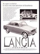 "1960 Lancia Appia Sedan Series III photo ""Definition of Excellence"" print ad"