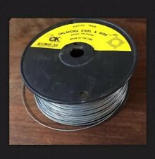 Oklahoma Steel & Wire Co. 17 Gauge 1/4 Mile Electric Fence Wire