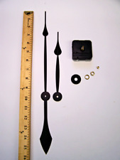 Extra Long Shaft -  High Torque Silent Clock Movement with 10 inch minute hand