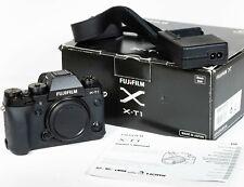 Fujifilm X series X-T1 16.3MP Digital Camera body Shutter count 9,323