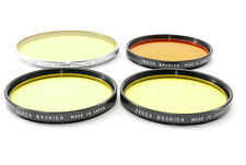 **Bulk Sales++++++++** Zenza Bronica Genuein Filter 4 pieces set Japan 621142