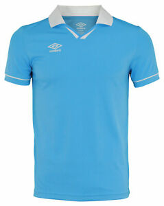 Umbro Mens Johnny Collar Short Sleeve Soccer Jersey, Color Options